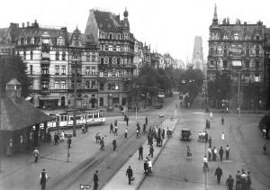 Beginn des Deutschen Ringes (um 1910) Quelle: https://de.wikipedia.org/wiki/Ebertplatz